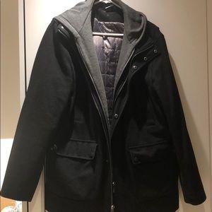 Men's Calvin Klein Peacoat with Hood